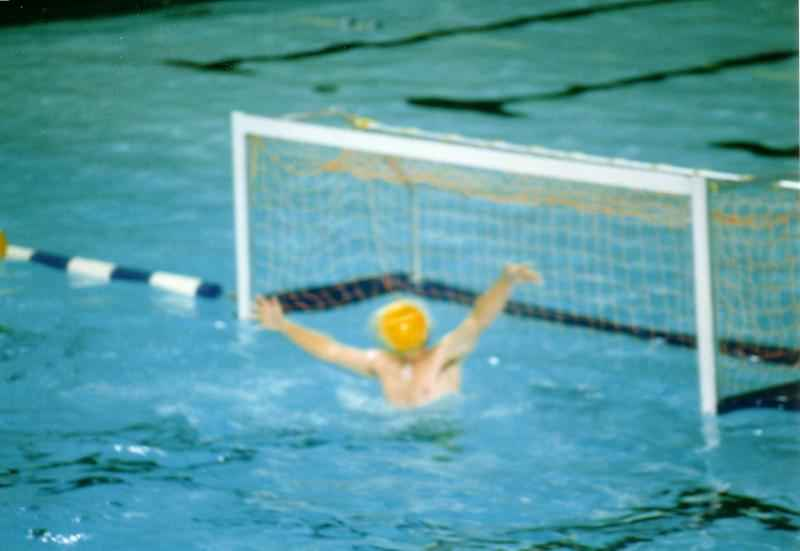 Water Polo goal keeper